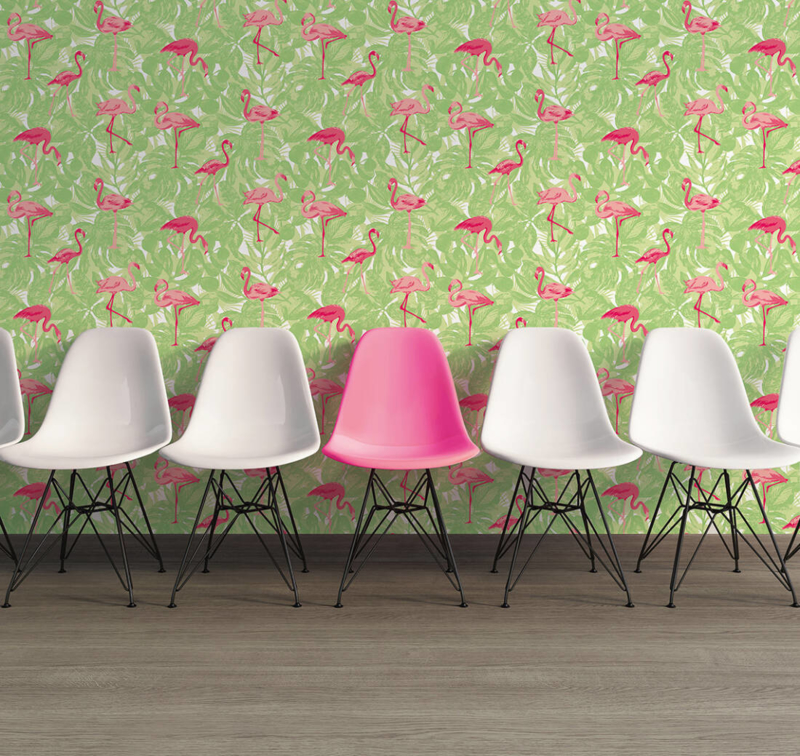 AS Creation Boys and Girls 6 behang  Flamingo 35980-2