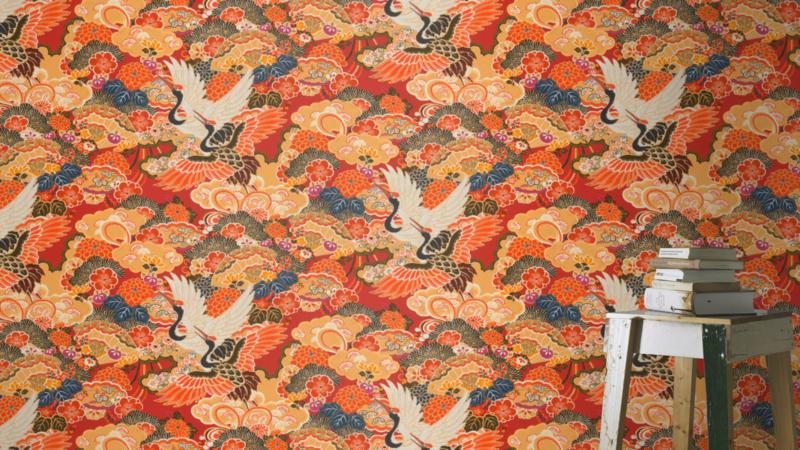 Rasch Kimono behang the Kimono 409345