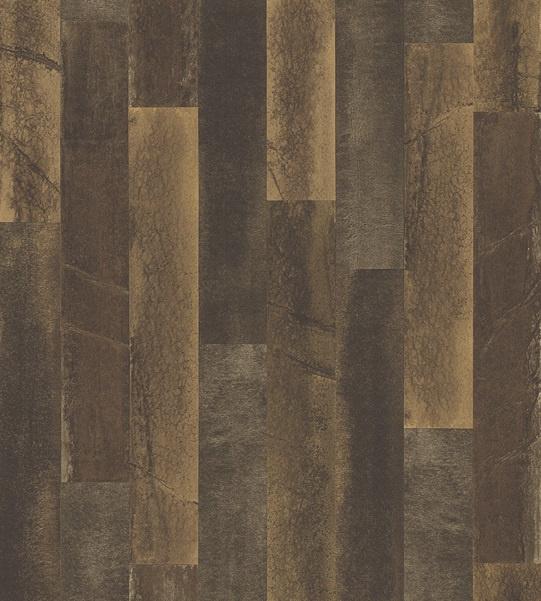 Dutch Restored Antique Floorboards behang 24049