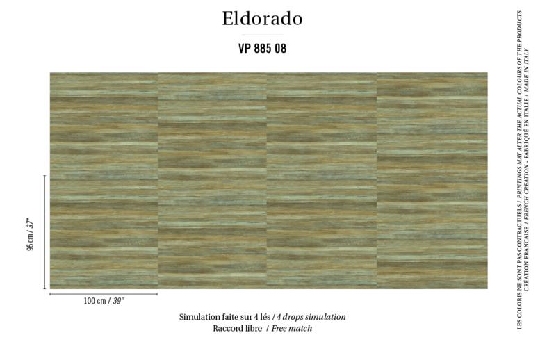 Élitis Eldorado Isola behang VP 885 08