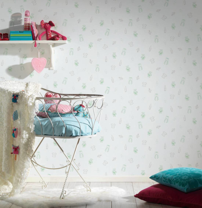AS Creation Little Stars Baby Stuff behang 35845-1