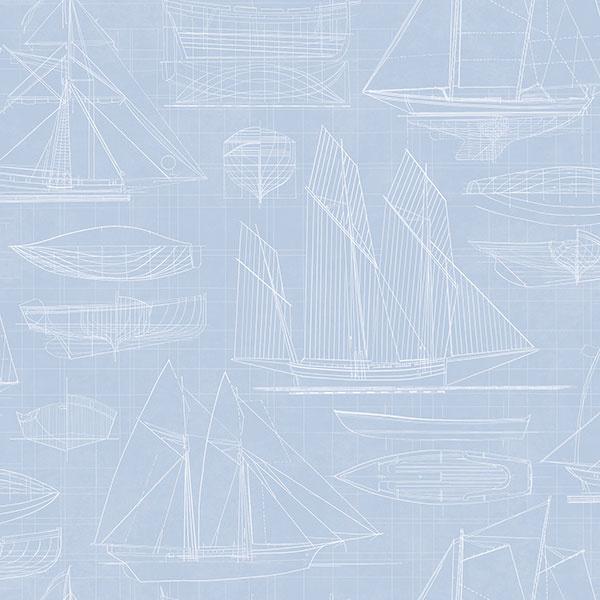 Noordwand Deauville 2 Blueprint behang G23327