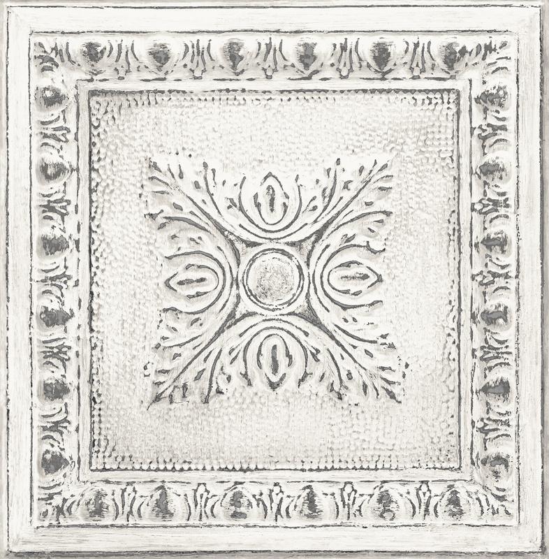 Dutch Restored Ornament Tile behang 24031