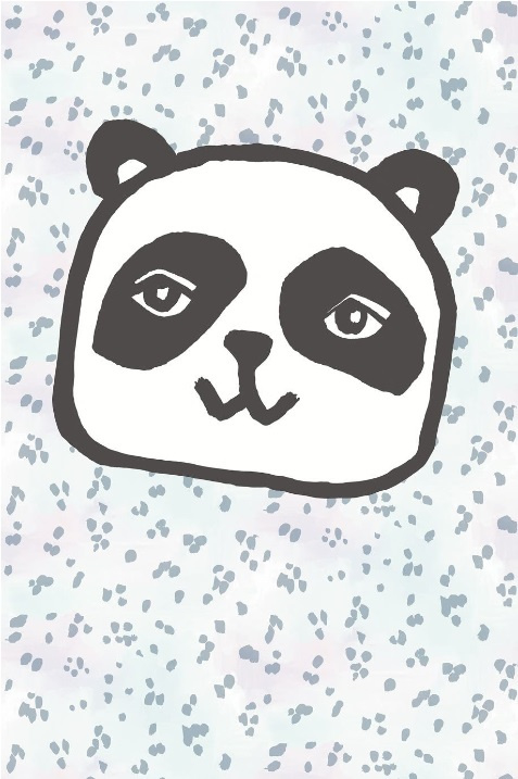 Eijffinger Wallpower Junior 364105 Panda Tiger Blue
