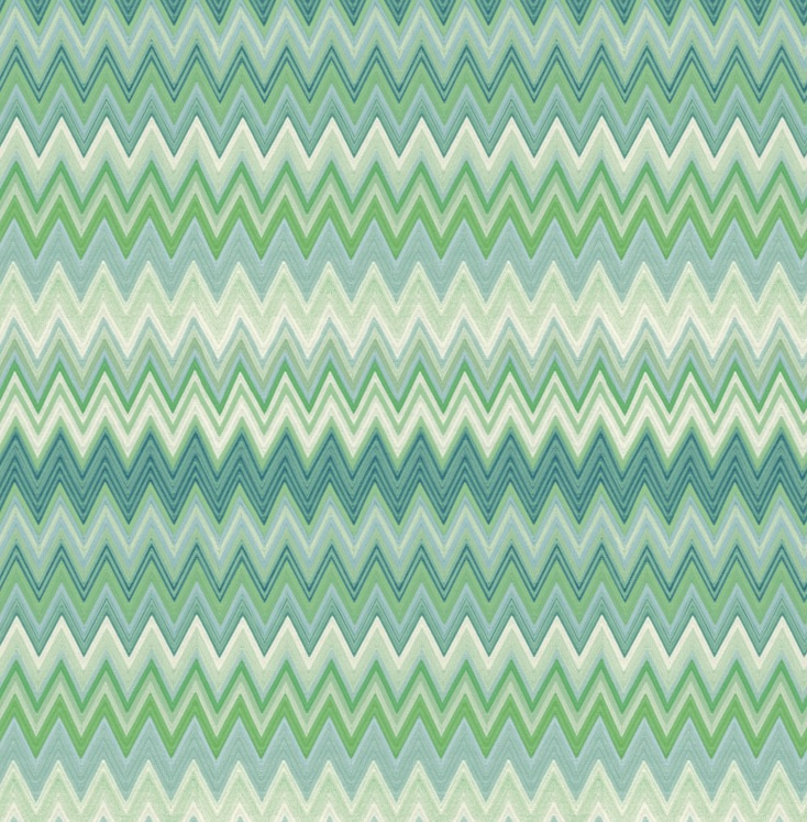 Hookedonwalls Missoni Home Zig Zag multicolore behang 10063