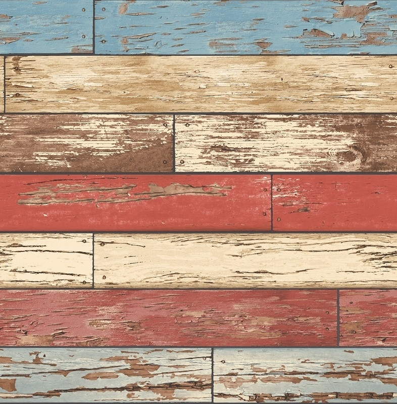 Dutch Reclaimed behang FD22319 Scrap Wood