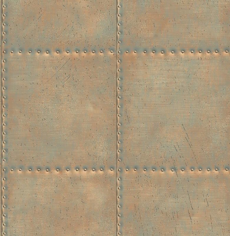Dutch Reclaimed behang FD22344 Sheet Metal Steel