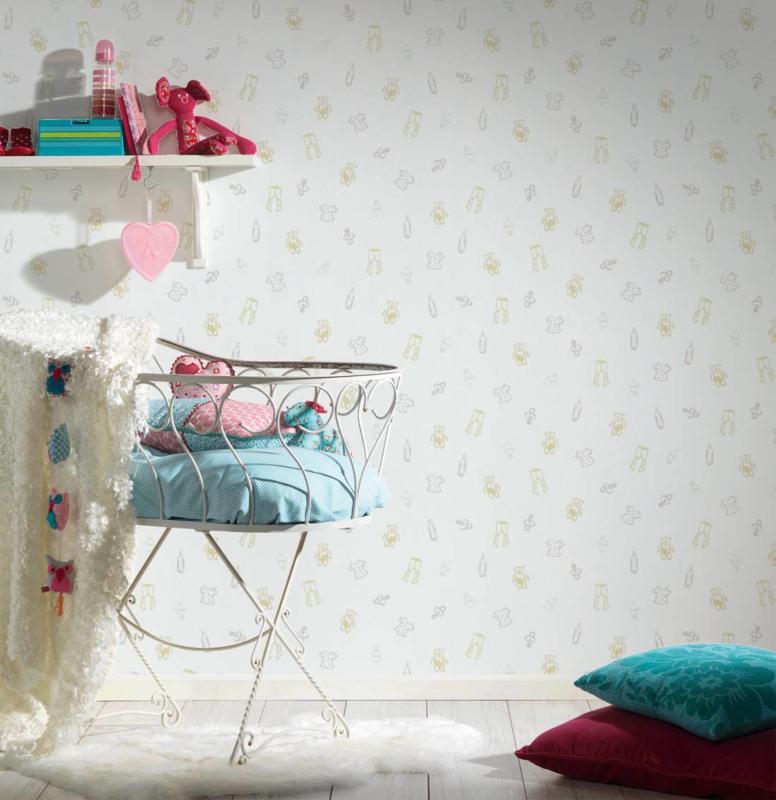 AS Creation Little Stars Baby Stuff behang 35845-2