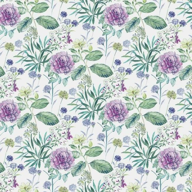 York Wallcoverings Handpainted Traditionals behang Midsummer Floral TL1920