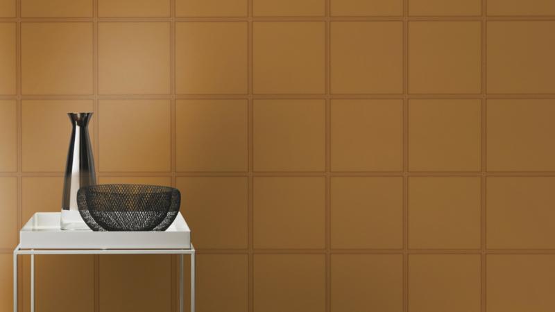 Rasch Club behang Leather Tiles 419016
