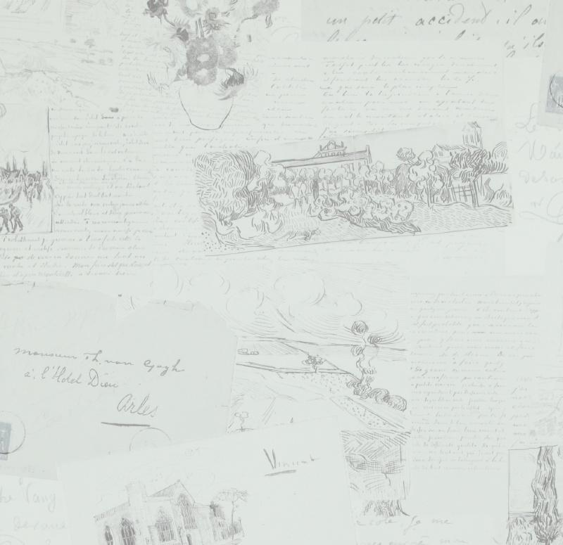 BN Van Gogh behang 17201 Letters