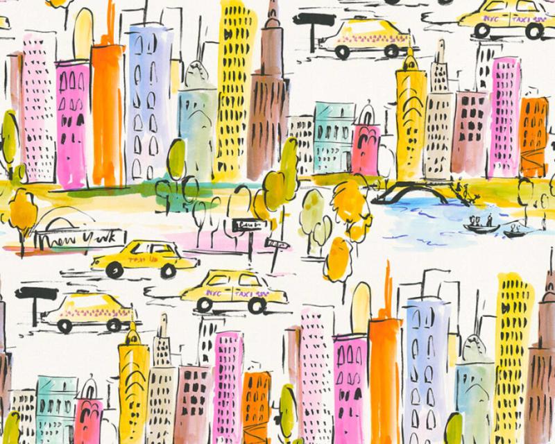 AS Creation Boys and Girls 6 behang New York 36753-1
