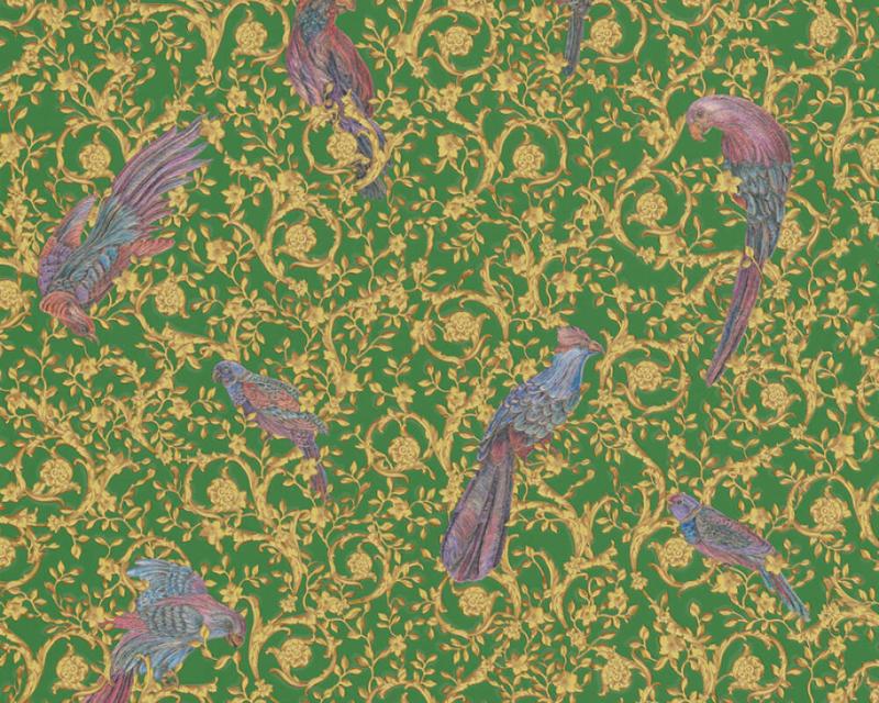 Versace Home IV behang Barocco Birds 37053-3