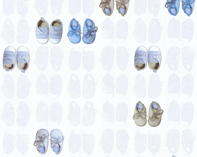 AS Creation Little Stars Schoentjes behang 35862-2