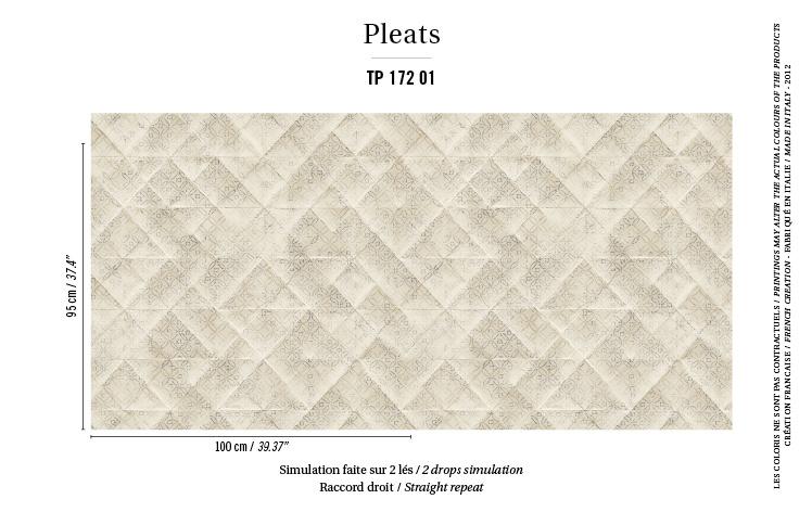 Élitis Pleats behang Majorelle PT 17201