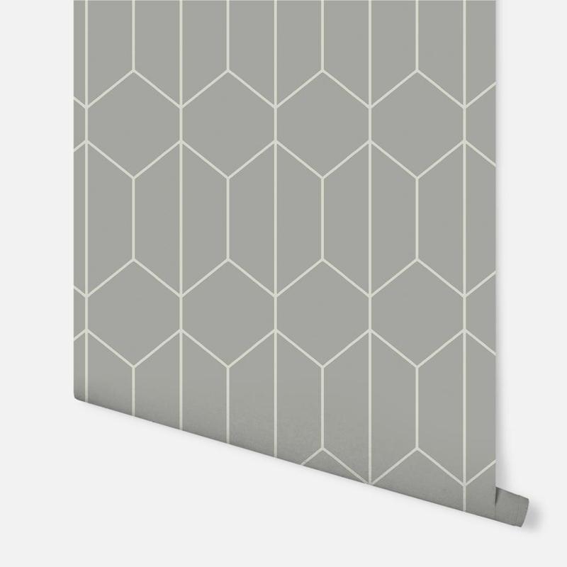 Arthouse Linear Geo Grey behang 909700
