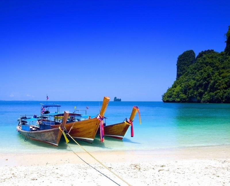 Dutch DigiWalls Fotobehang 70081 Thailand Beach