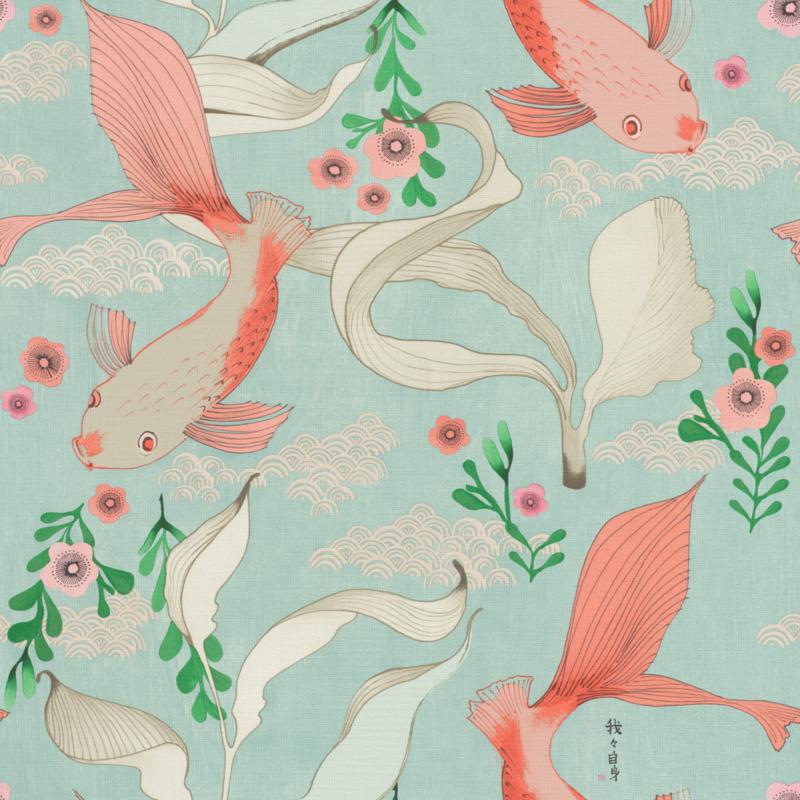 Onszelf Amazing behang Japanese Fish 539837