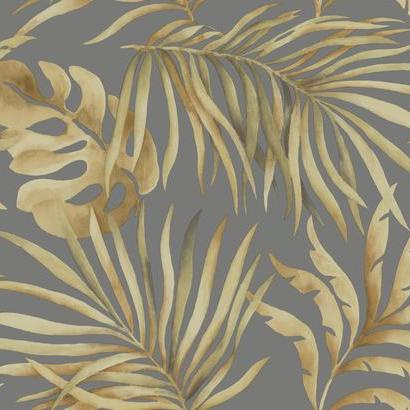 York Wallcoverings Candice Olson Tranquil behang Paradise Palm SO2453
