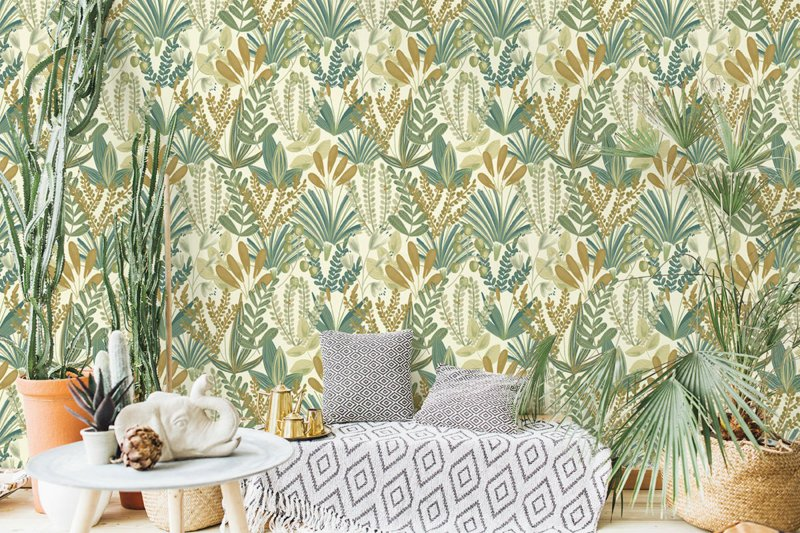 Dutch Wallcoverings Jungle Fever behang Early Blossom JF3702