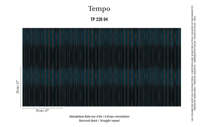 Élitis Tempo behang Carioca TP 22004