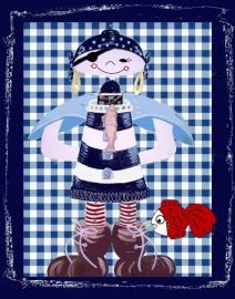 Piraat met vuurtoren