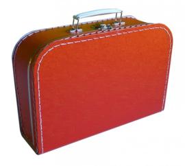 Koffertje rood 30 cm
