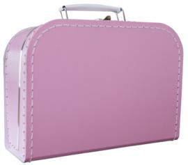 Koffertje roze 25 cm