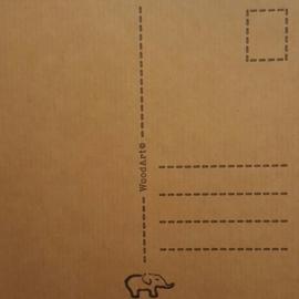 Kaart voor de meester 13 bij 13 cm