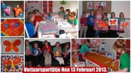 Kinderpartijtje 13 februari 2013