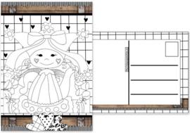 1.Kaart met afbeelding Marlijnpoppendijn.
