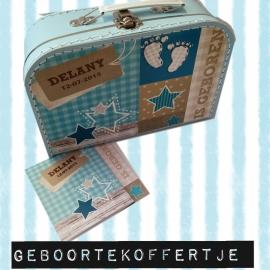 Geboorte koffertje