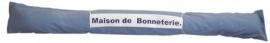 In opdracht gemaakt tochtslag voor Maison de Bonneterie.