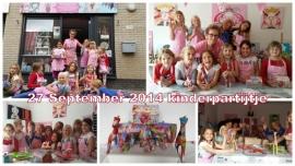 Kinderpartijtje 27 september 2014