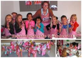 kinderpartijtje 5 oktober 2013