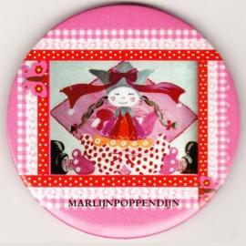 2.Button meisje spiegeltje 5,5 cmm