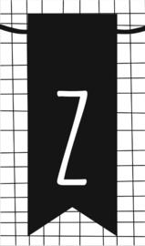 klein kaartje met letter Z