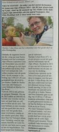 Witte weekblad Alpeduzes.2014