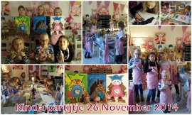 Kinderpartijtje 26 November 2014