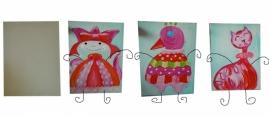 Workshop/kinderpartijtje op doek schilderen.