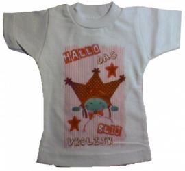 Geboorte poppen t-shirt./ of eigen ontwerp.