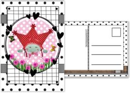 5.Kaart met afbeelding Marlijnpoppendijn.