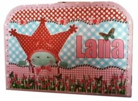 Een koffertje voor Lara.