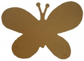 Workshop/kinderpartijtje vlinder decopatch.29 x 21cm