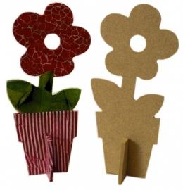 Workshop/kinderpartijtje bloem decopatch.9.6 x 5.7 x 19.9cm