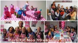 kinderpartijtje 19 oktober 2013