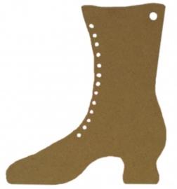 Workshop/kinderpartijtje schoen decopatch.160x77mm