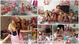Kinderpartijtje 17 september 2014
