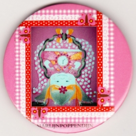 7.Button meisje spiegeltje 5,5 cmm