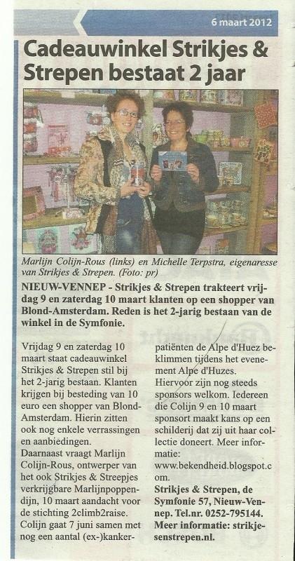 51.Witte weekblad Woensdag 7 Maart 2012.